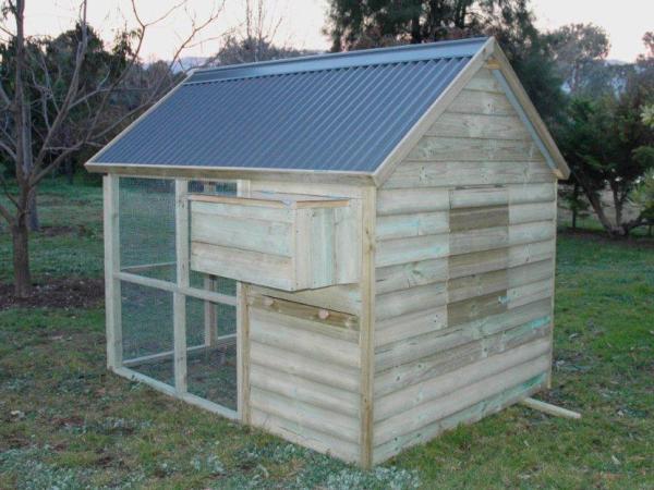 Bertia Lanhe Australian Chicken Coop Design